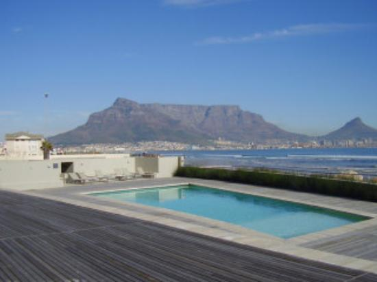 Milnerton, Sydafrika: View from one of the pool decks