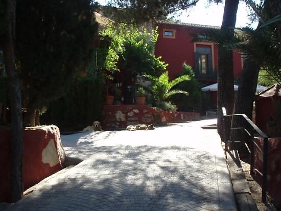 Xativa, Spanien: hotel entrance