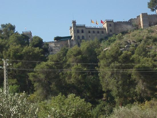 Xativa, Spanien: castle