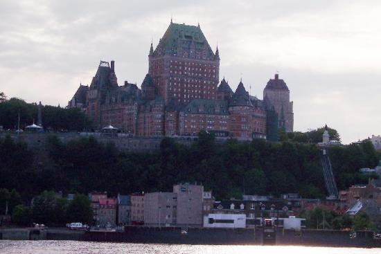 Maison du Fort: The Chateau Frontenac from across the river