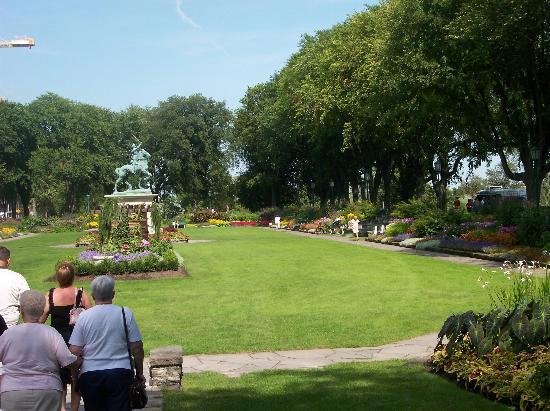 Maison du Fort: Gardens