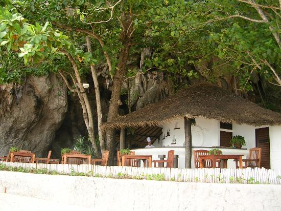 Phra nang beach restaurants