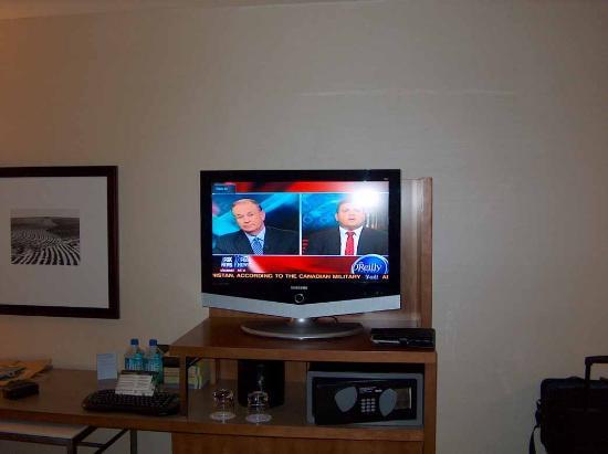 Hyatt Regency Denver At Colorado Convention Center: in-room LCD TV