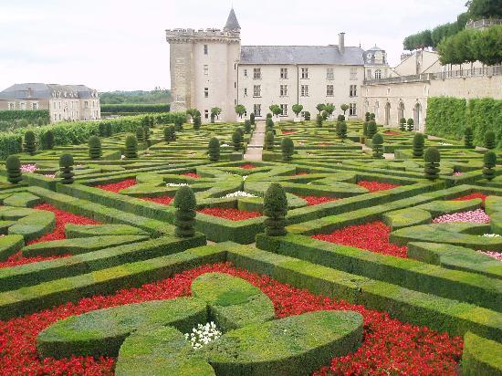 Villandry, Frankrike: charming gardens