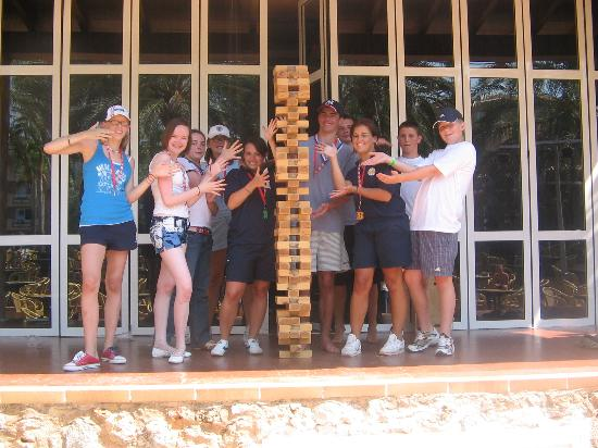 Protur Bonaire Aparthotel: the highest jenga ya wiv the greatest reps jo n holly