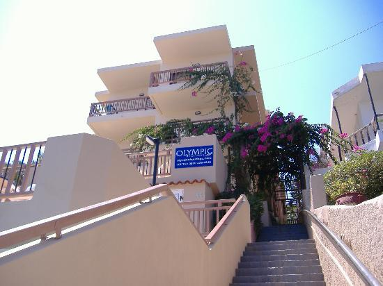 Stalis, Grecia: The apartment building