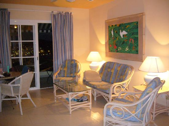 Gran Oasis Resort: Living Room of Apartment
