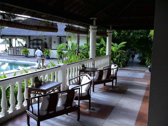 Evason Ana Mandara Nha Trang : patio