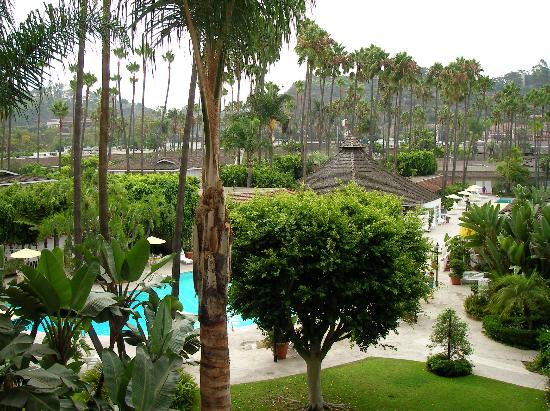 Town and Country San Diego: Balcony View