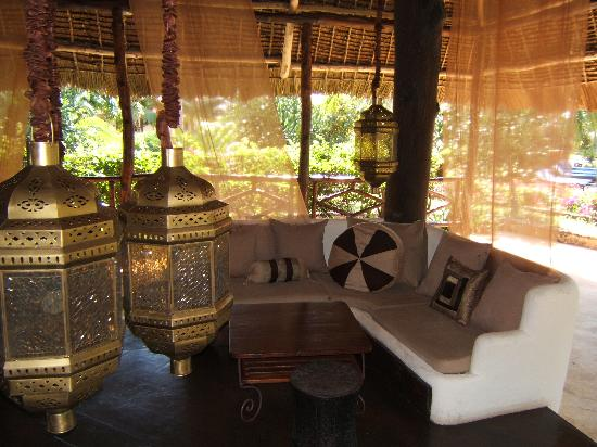 Breezes Beach Club & Spa, Zanzibar: Baraza - perfect for after dinner drinks