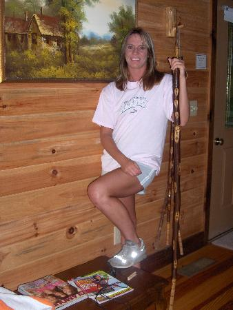 Cavender Creek Cabins Resort: Ready to hike