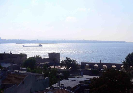 Poem Hotel Istanbul: view from All of a Sudden balcony
