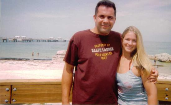 Fort De Soto Park: Hubby and I.....at the beach