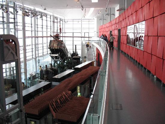 Swansea, UK: View from mezzanine
