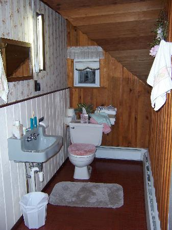 Ferndale, NY: HERE IS OUR  BATHROOM
