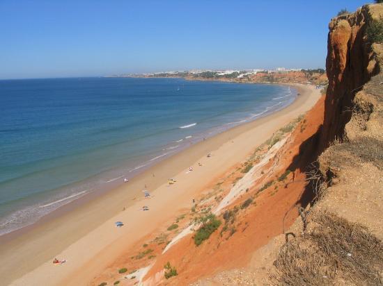 Falesia Hotel: The beach