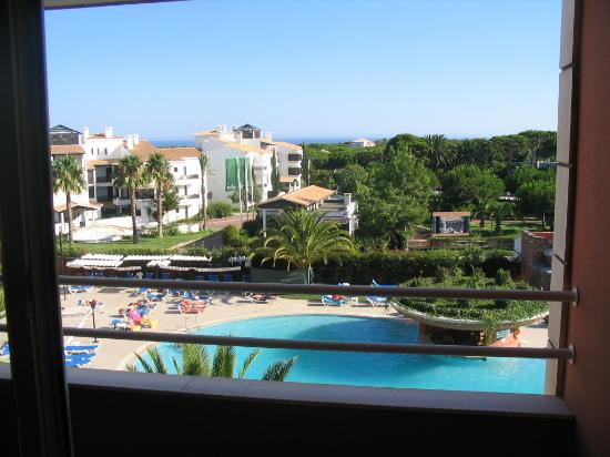 Falesia Hotel: View from room