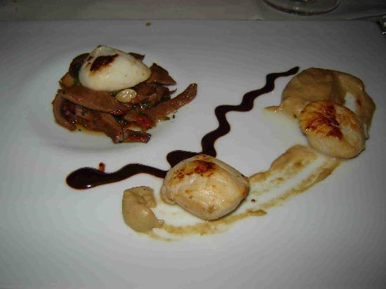 Penha Longa Resort: scallops at the assamassa