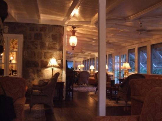 Nisbet Plantation Beach Club : Inside the Great House