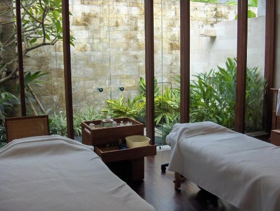 COMO Shambhala Estate, Bali: cabine spa hotel