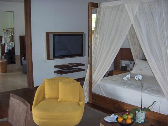 COMO Shambhala Estate: Bedroom in private villa (Chambre dans villa privée)