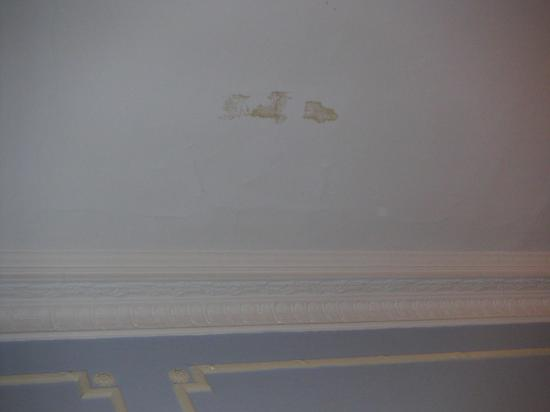 Hadleigh Hotel: Hadleigh - stains on ceiling