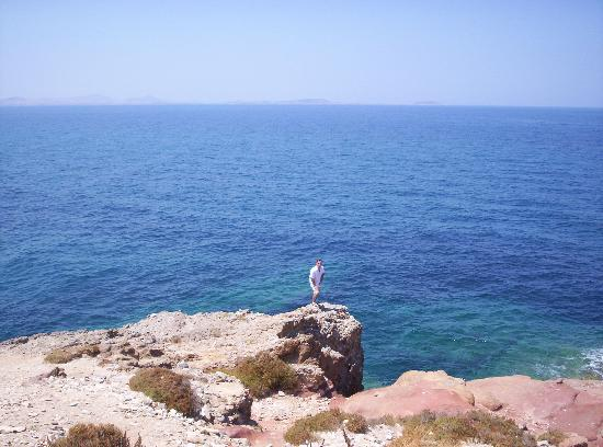 Athina Studios and Apartments: Naxos Town on the Portara peninsula