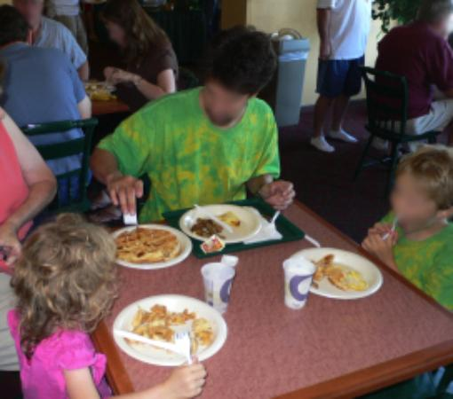 Country Inn & Suites By Carlson, Chanhassen: eggs, sausage, waffles