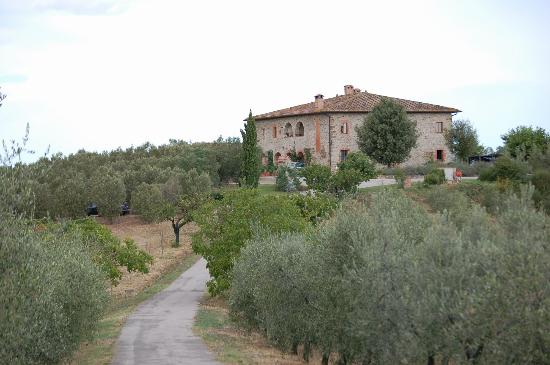 Agriturismo Le Macie: vue de la résidence principale