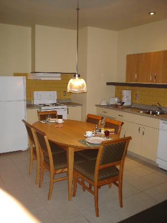 Le Square Phillips Hotel & Suites : Kitchen