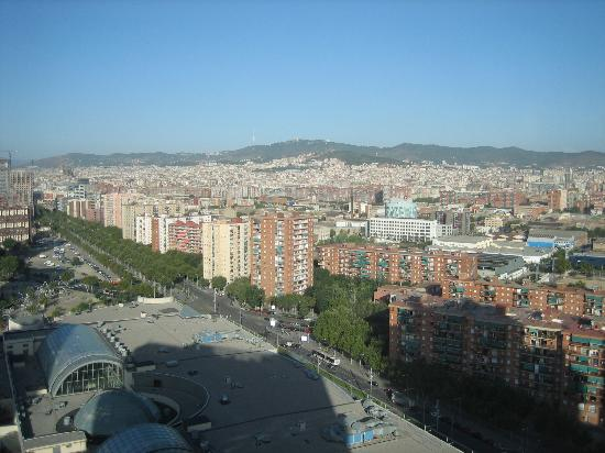 Sunrise over the mediterranean picture of ac hotel - Ac hotels barcelona ...