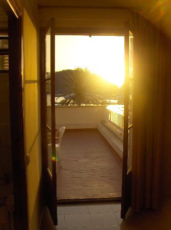 Hotel Eden: Balcony