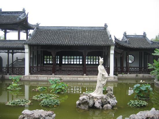 Nanjing, China: Mochou statue