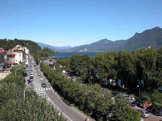 Verbania, İtalya: View from the window