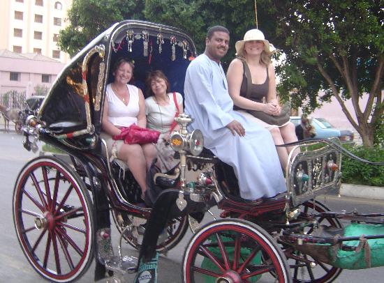 Jolie Ville Hotel & Spa - Kings Island, Luxor : Calesh!