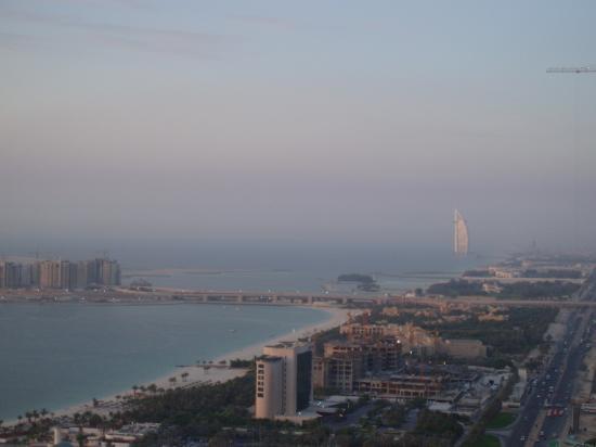 Grosvenor House Dubai: View of the Palm and Burj from balcony