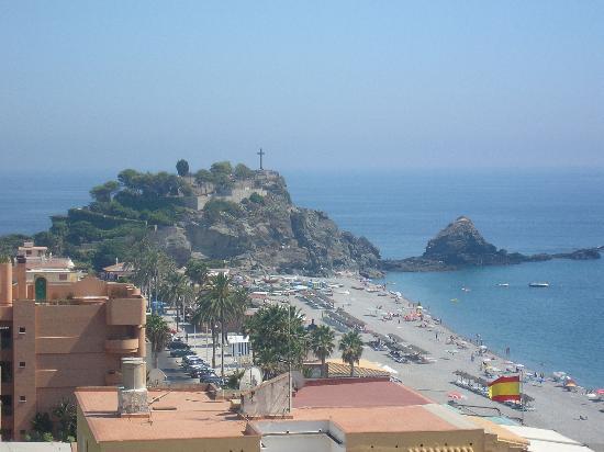 Helios Costa Tropical: Vista desde el solarium del hotel
