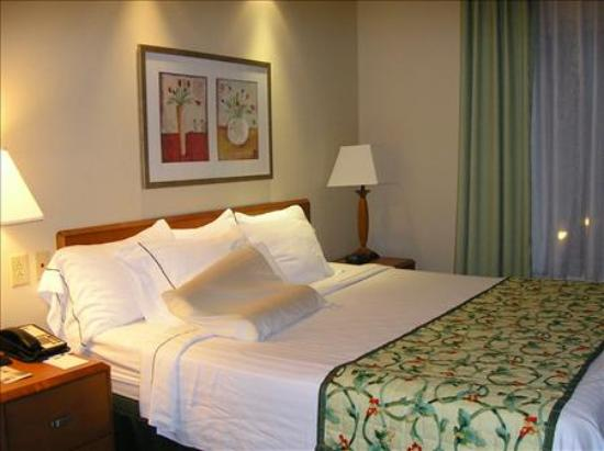 Fairfield Inn & Suites Germantown Gaithersburg: The bedroom