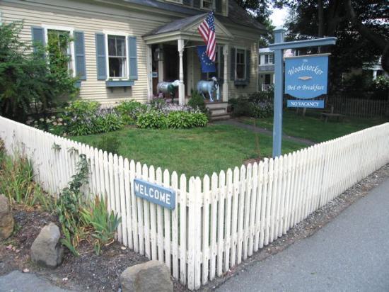 Woodstocker Inn: the front