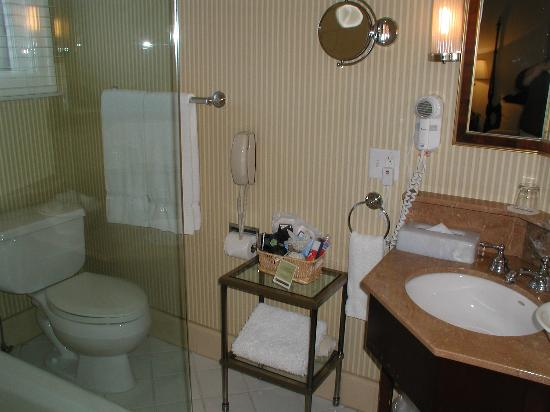 Hotel Drisco: gorgeous bathroom