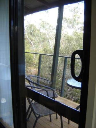 Cradle Mountain Wilderness Village: own veranda