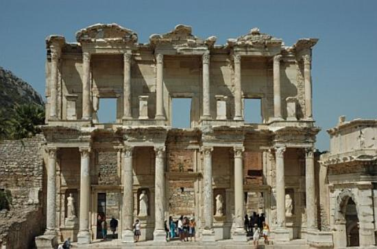 Ada Hotel: This is the library at Ephesus, well worth the visit.