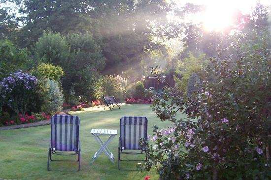 Southcombe Guest House: Rear garden