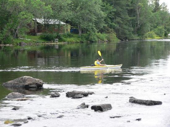 Silgrey Resort : Kayaking on the York River
