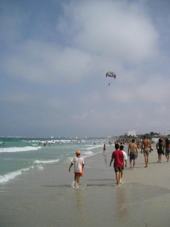 Vincci El Mansour: Sandy beach