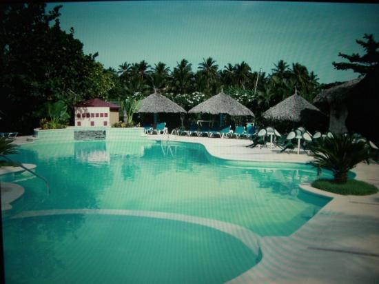 Hotel Celuisma Cabarete: Schöner Pool mit Kinderbereich..