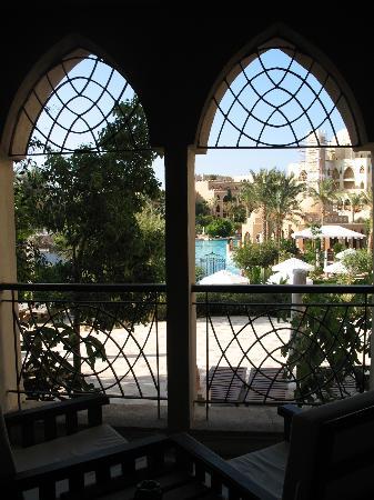 The Makadi Palace Hotel: view from balcony