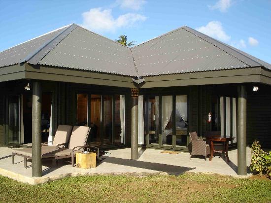 Taveuni Island Resort & Spa: Oceanfront bure