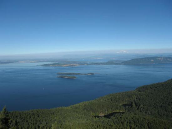 Moran State Park: One view from Mt Constitution