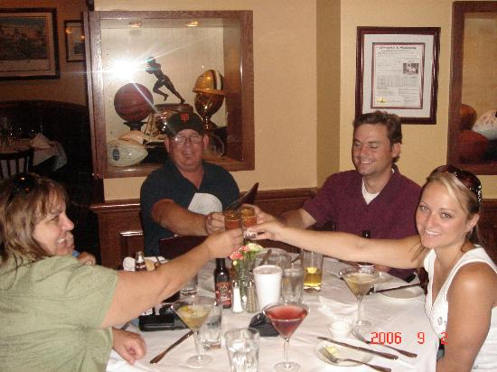 Ditka's Restaurant: Oyster Shooters - Cheers!